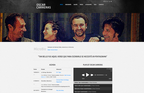 OSCAR CARRERAS WEB