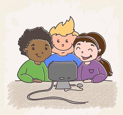 Grafix dona 5 ordinadors a l'Escola Pau Casals de Montmeló 2